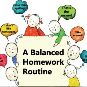 Balanced Homework Habits