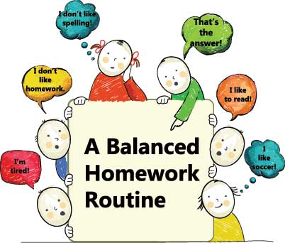 A-Balanced-Homework-Routine